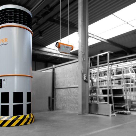 CleanAirTower wentylacja spawalni