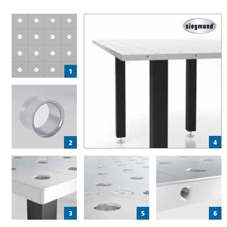 Stół spawalniczy System 28 Basic