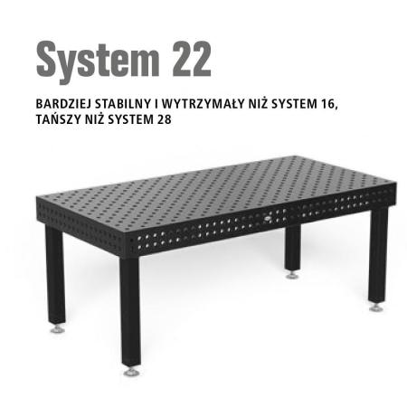 Stoły spawalnicze System 22