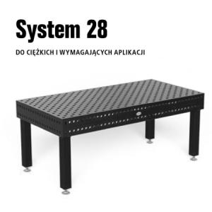Stoły spawalnicze System 28