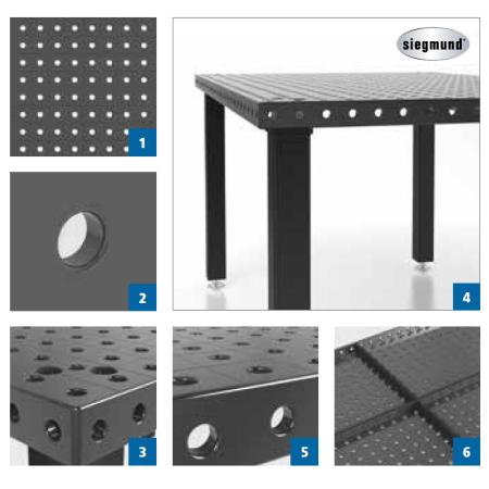 Stół spawalniczy System 16 Basic