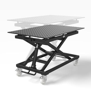 mobilny stół spawalniczy